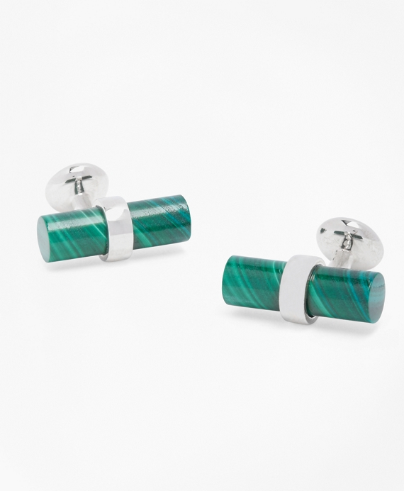 Malachite Cuff Links Malachite