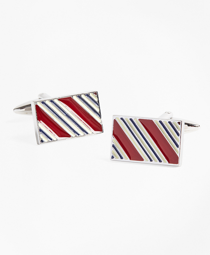 BB#1 Stripe Cuff Links