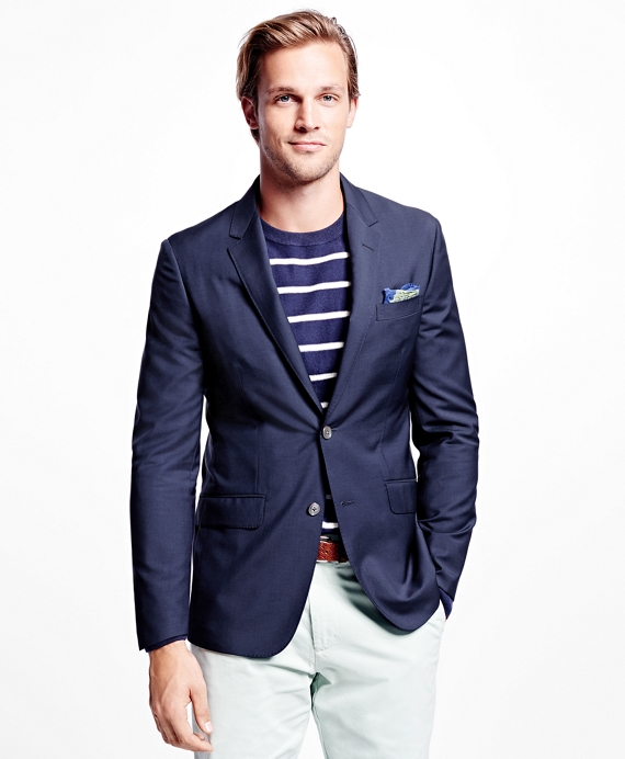 Milano Fit Ultra Lightweight Blazer Navy