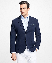 Double-Face Patch Pocket Blazer
