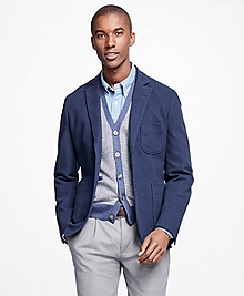 Double-Knit Patch Pocket Blazer