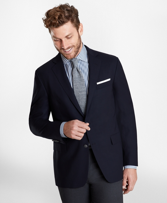 Regent Fit BrooksCool® Blazer Navy