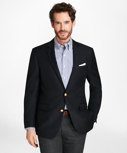 Country Club Regent Fit Saxxon™ Wool Two-Button Blazer