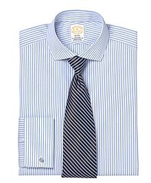 Golden Fleece® Madison Fit Satin Stripe French Cuff Dress Shirt