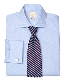 Golden Fleece® Madison Fit Micro Check French Cuff Dress Shirt