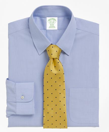 Milano Slim-Fit Dress Shirt, Non-Iron Tab Collar