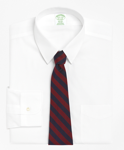 Milano Slim-Fit Dress Shirt, Non-Iron Tab Collar
