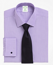 Non-Iron Milano Fit Spread Collar French Cuff Dress Shirt