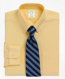 Non-Iron Milano Fit BrooksCool® Button-Down Collar Dress Shirt