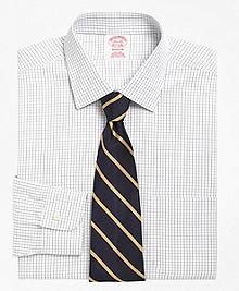 Non-Iron Madison Fit Graph Check Dress Shirt