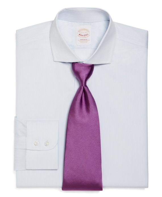 Golden Fleece® Madison Fit Double Pinstripe Dress Shirt Blue