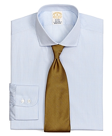 Golden Fleece® Egyptian Cotton Regent Fit Sidewheeler Check Dress Shirt