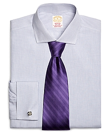 Golden Fleece® Madison Fit French Cuff Small Check Dress Shirt
