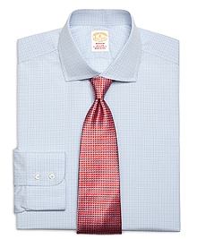 Golden Fleece® Madison Fit Tonal Small Check Dress Shirt
