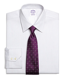 Regular Fit Alternating Stripe Dress Shirt