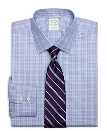 Extra-Slim Fit Glen Plaid Dress Shirt