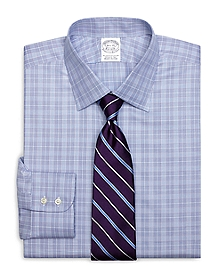 Slim Fit Glen Plaid Dress Shirt