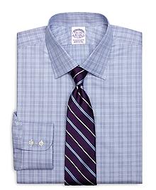 Regular Fit Glen Plaid Dress Shirt