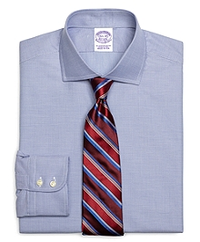 Regular Fit Micro Gingham Dress Shirt