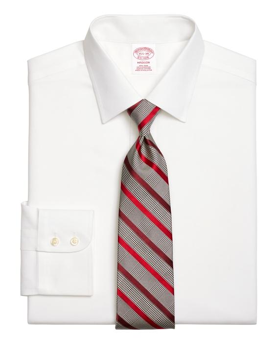 Non-Iron Regular Fit Royal Oxford Dress Shirt White