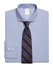 Slim Fit Mini Check Dress Shirt