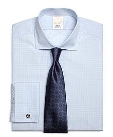 Golden Fleece® Regent Fit French Cuff Framed Check Dress Shirt