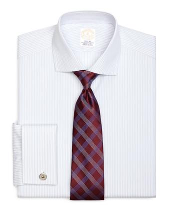 Golden Fleece® Madison Fit French Cuff BB#10 Stripe Dress Shirt