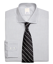 Golden Fleece® Madison Fit Micro Check Dress Shirt