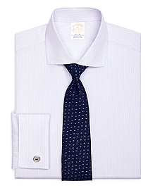 Golden Fleece® Regent Fit French Cuff Dotted Stripe Dress Shirt