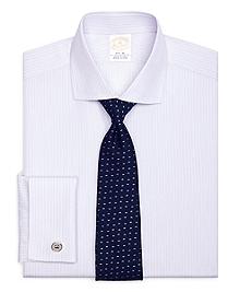 Golden Fleece® Regent Fit French Cuff Dotted Stripe Dress Shirt