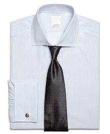 Golden Fleece® Madison Fit French Cuff Sidewheeler Stripe Dress Shirt