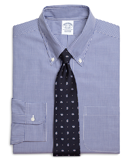Brooks brothers men 39 s button downs dress shirts for Brooks brothers custom shirt