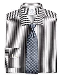 Non-Iron Slim Fit Bengal Stripe Dress Shirt