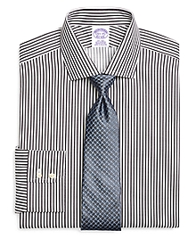 Non-Iron Regular Fit Bengal Stripe Dress Shirt