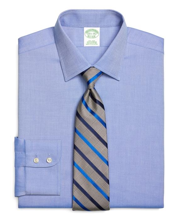 Milano Slim-Fit Dress Shirt, Non-Iron Royal Oxford Blue