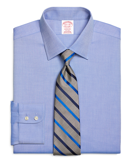 Madison Classic-Fit Dress Shirt, Non-Iron Royal Oxford