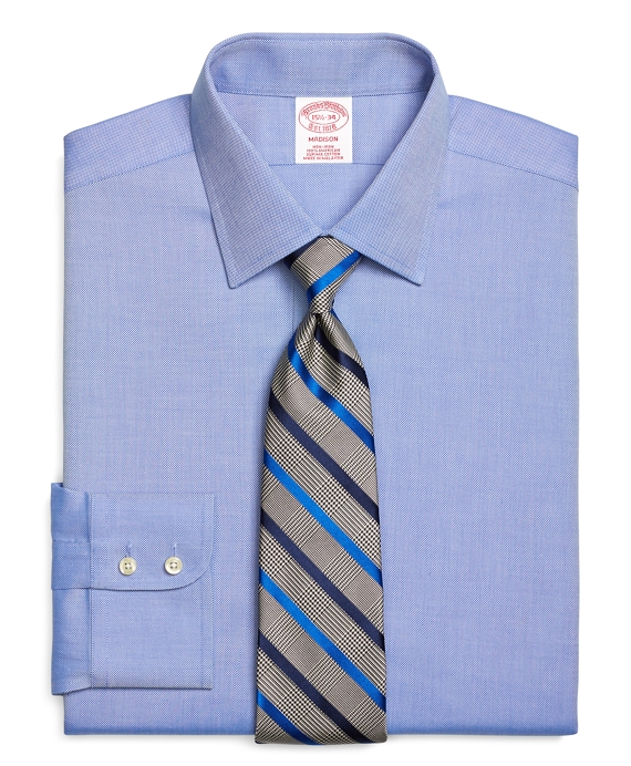 Madison Classic-Fit Dress Shirt, Non-Iron Royal Oxford