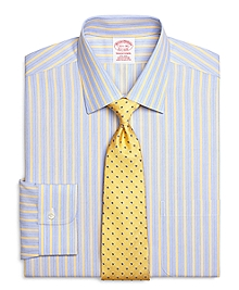 Non-Iron Traditional Fit Hairline Stripe Dress Shirt