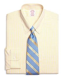 Non-Iron Madison Fit Sidewheeler Tattersall Dress Shirt