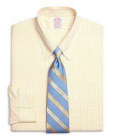 Non-Iron Traditional Fit Sidewheeler Tattersall Dress Shirt