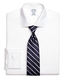 Non-Iron Regent Fit Diagonal Stripe Dress Shirt