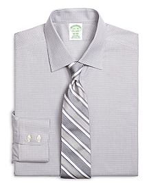 Non-Iron Milano Fit Micro Check Dress Shirt