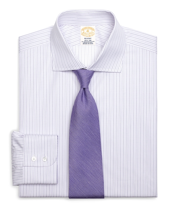Golden Fleece® Regent Fit Alternating Twin Stripe Dress Shirt