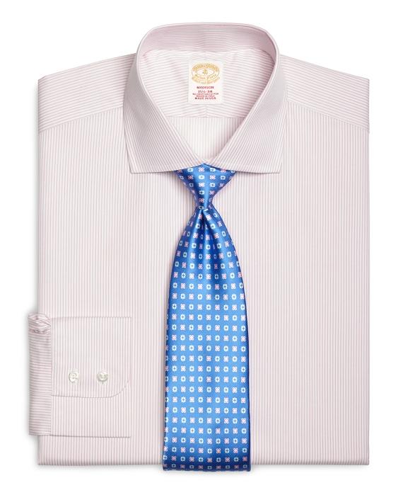 Golden Fleece® Madison Fit Sidewheeler Stripe Dress Shirt Pink