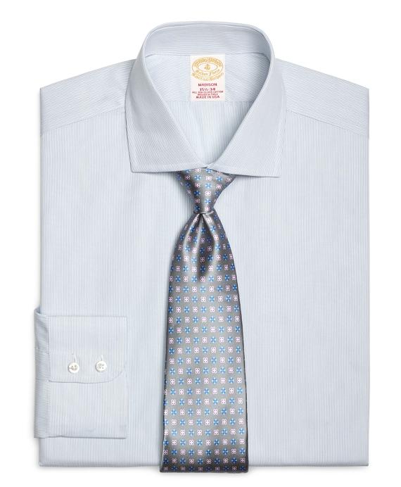 Golden Fleece® Madison Fit Sidewheeler Stripe Dress Shirt