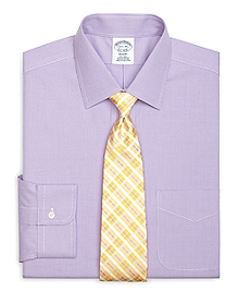 Non-Iron Regent Fit Houndstooth Dress Shirt