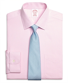 Non-Iron Madison Fit Houndstooth Dress Shirt