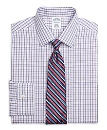 Non-Iron Regent Fit Hairline Check Dress Shirt