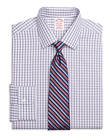 Non-Iron Traditional Fit Hairline Check Dress Shirt