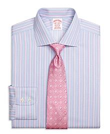 Non-Iron Madison Fit Ombre Stripe Dress Shirt